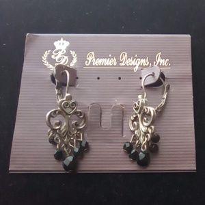 Vintage Premier Design Baroque Earrings.